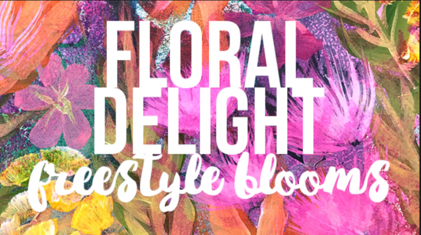 FLORAL DELIGHT video cover by traci bautista
